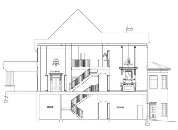 Broadstone lodge 1433 6 bedrooms and 6 baths the house for Horizontal house plans