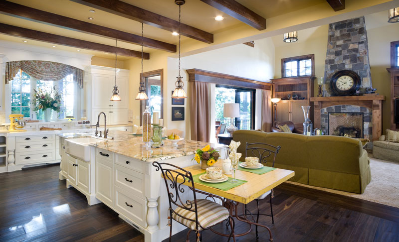 New home designs trending this 2015 the house designers for House plans with gourmet kitchens