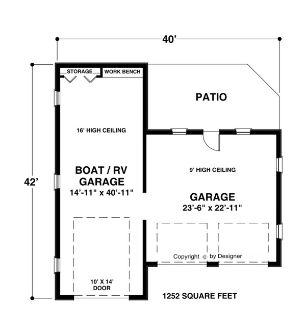 Denny garage plans for boats for Rv house plans