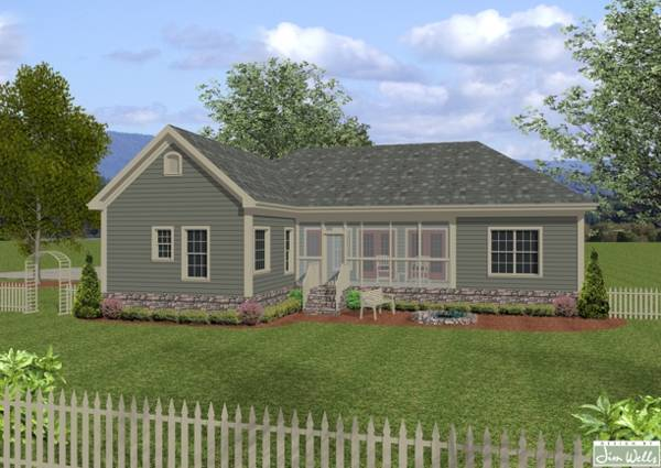 The wellsley cottage s 7675 4 bedrooms and 3 5 baths for Shouse house plans