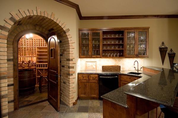 Basement basement bar designs for Basement wet bar design
