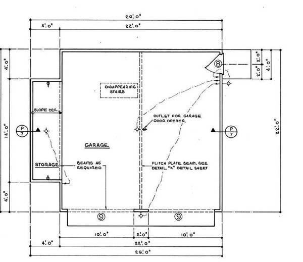 Plans apartment garage plan floor free pictures for Free garage plans