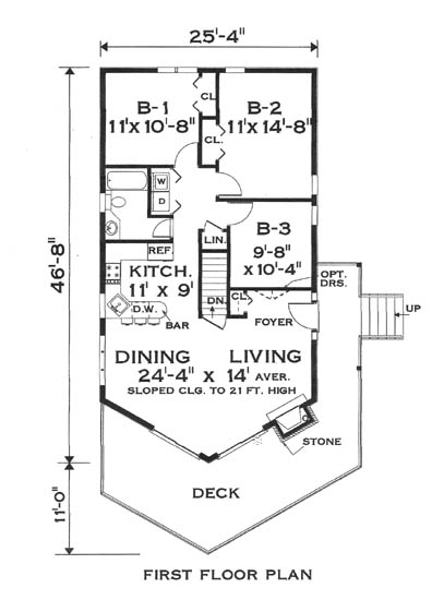 Chalet home floor plans unique house plans Plan chalet