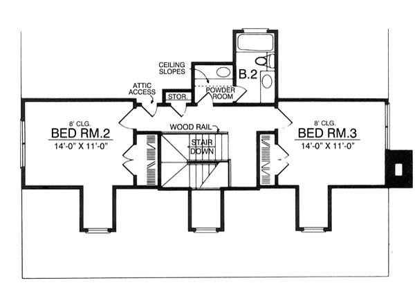 The laredo 7955 3 bedrooms and 2 5 baths the house for Copying house plans