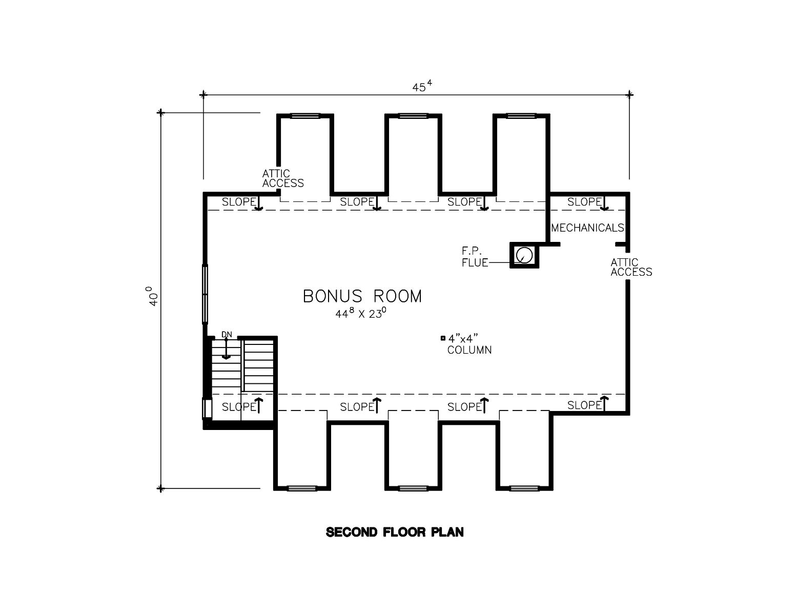 18 amazing 2nd floor house plan architecture plans 48444 for 2nd floor house plan