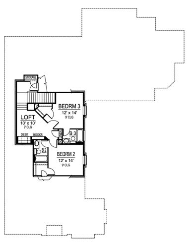 Riverside 5134 3 Bedrooms And 3 Baths The House Designers