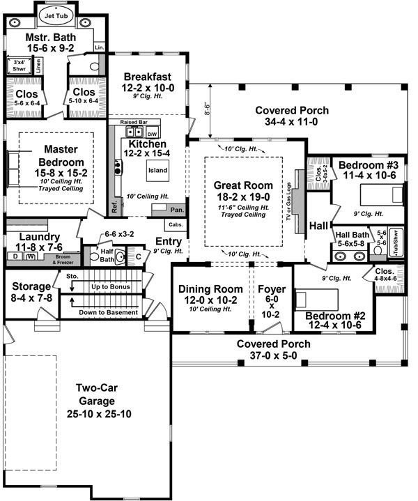 This Beautiful Design Offers Traditional Neighborhood Styling Along With Great Floor Plan Features
