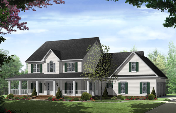 New England Inspired Homes - The House Designers