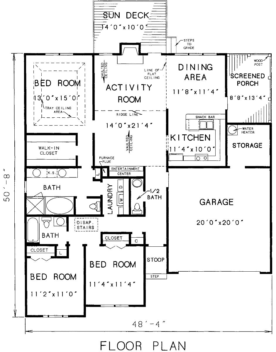 The carrollton 3298 3 bedrooms and 2 baths the house Home building plans